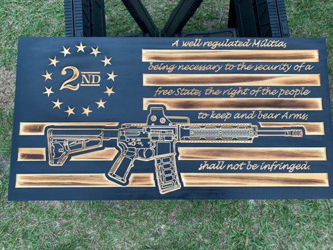 A Well Regulated Militia Flag