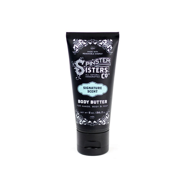 Small travel tube of 2 oz. Signature Scent body butter