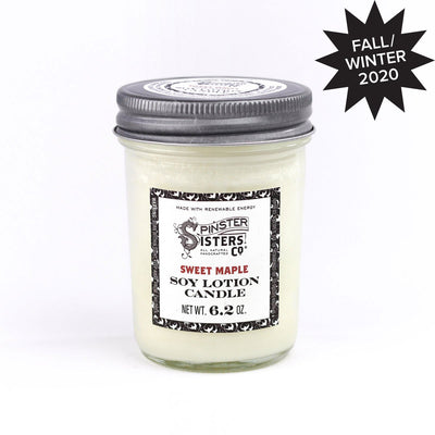 Sweet Maple Soy Lotion Candle