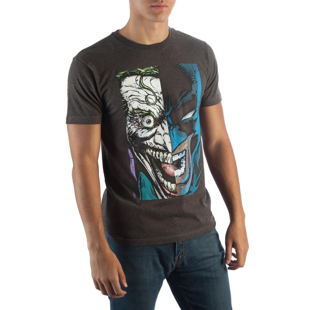 Batman/Joker Half Face T-Shirt