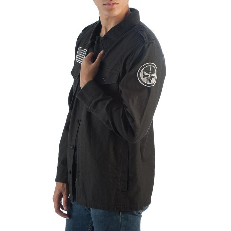 Utility Punisher Jacket Punisher Apparel Punisher Gift - Marvel Jacket Punisher Clothing