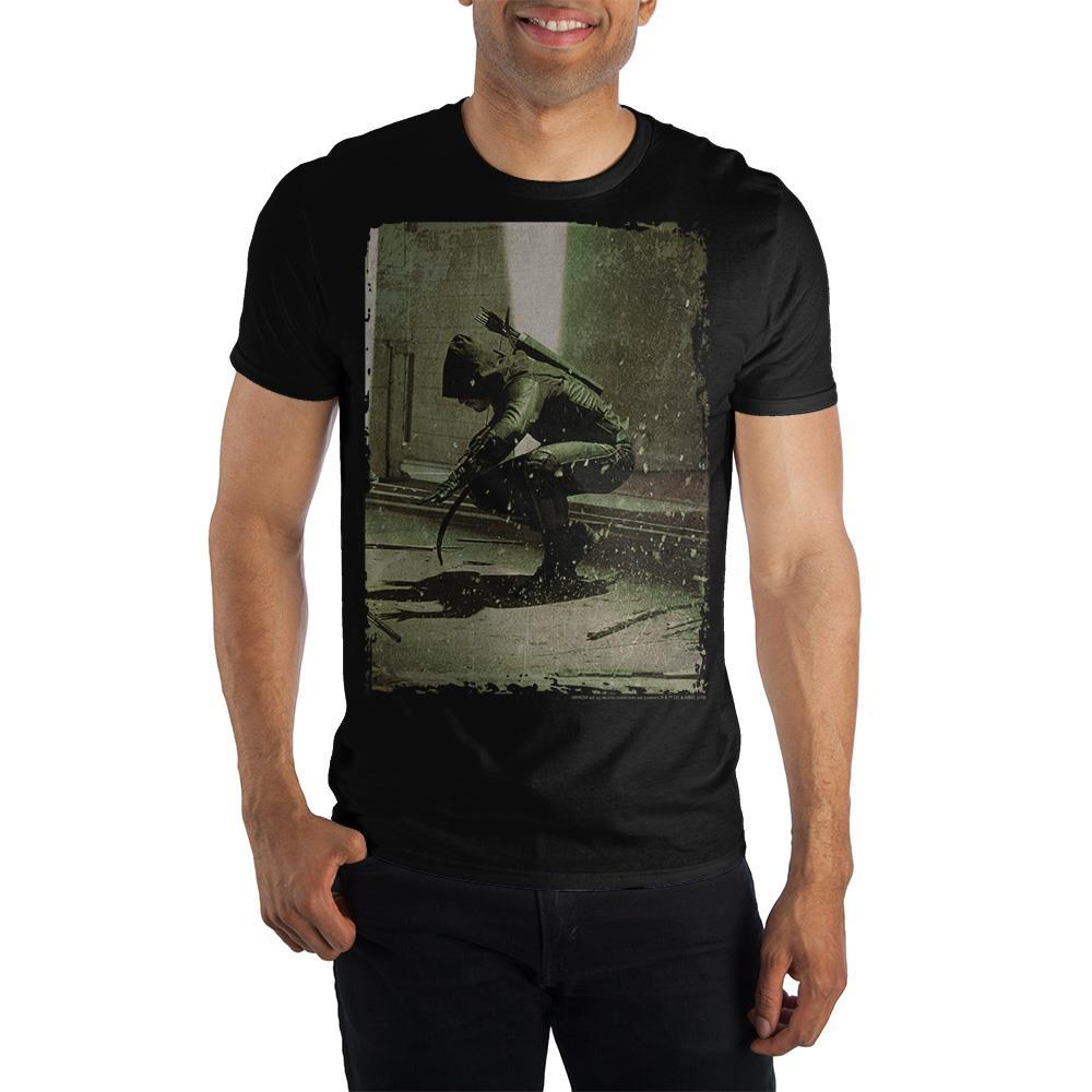 Green Arrow TV Show Men's T-Shirt Tee Shirt