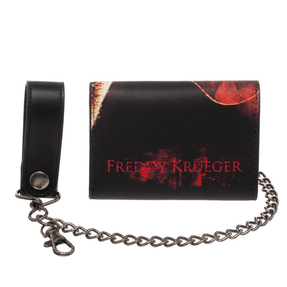 A Nightmare On Elm Street Men's Wallet With Chain