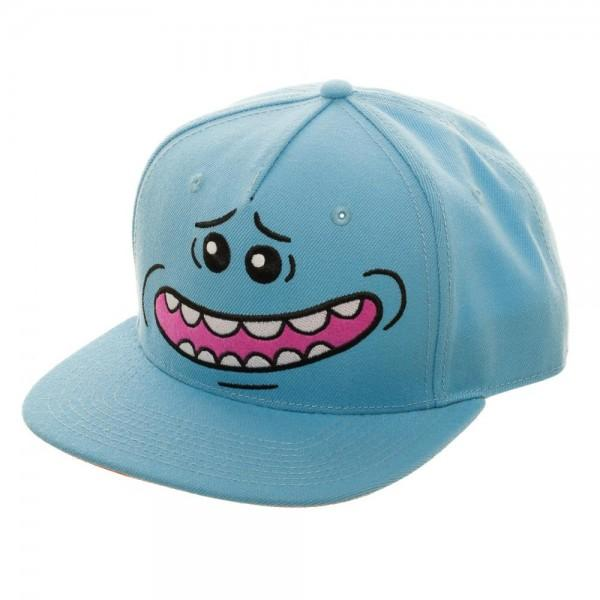 Rick and Morty Snapback Hat Rick and Morty Mr. Meeseeks Rick and Morty Gift - Rick and Morty Hat Rick and Morty Accessories
