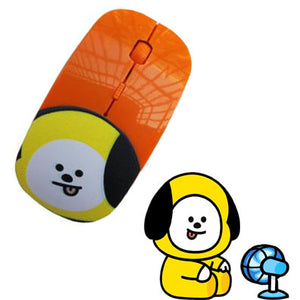 BTS BT21 Mouse Wireless Mouse