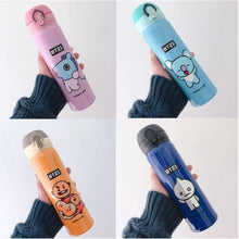Load image into Gallery viewer, BTS BT21 Tumbler Cup Double Stainless