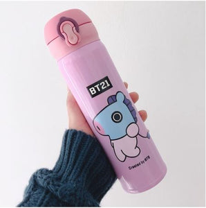 BTS BT21 Tumbler Cup Double Stainless