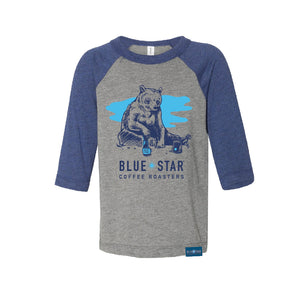 Bear-O-Press Toddler's Raglan Tee