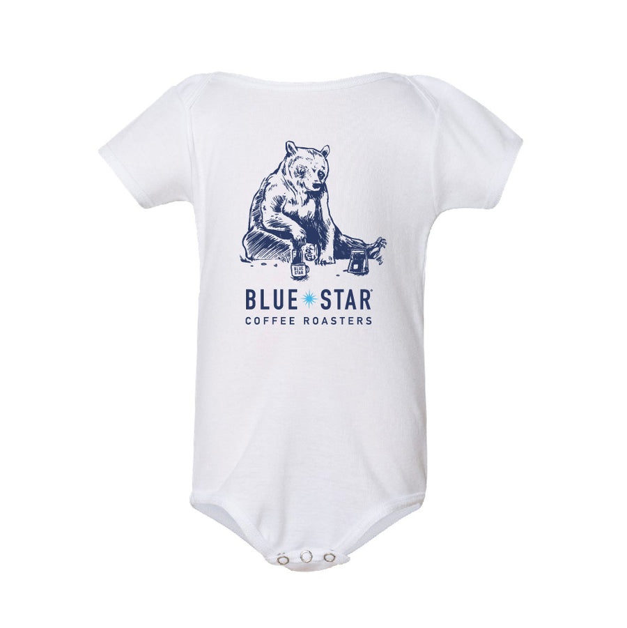 White Bear-O-Press Onesie