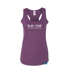 Blue Star Racer-back Tank