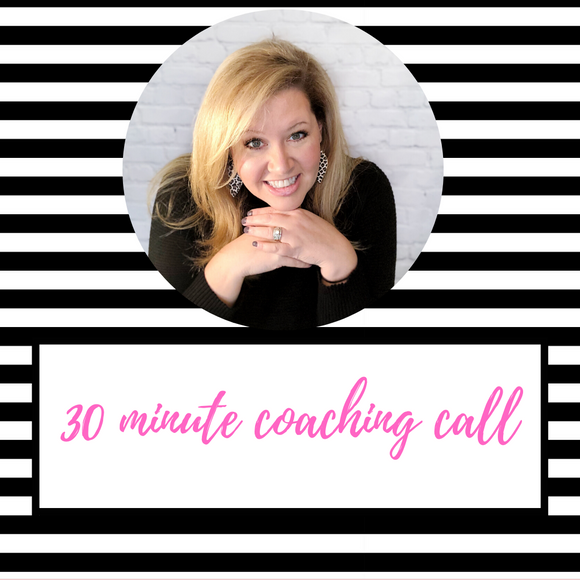 30 Minute Coaching Call