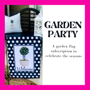 Influencer Garden Party Subscription