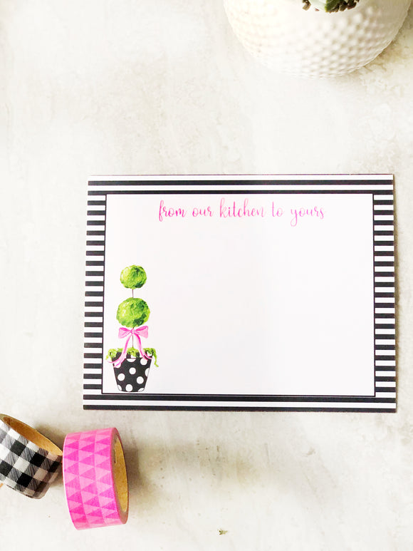 Make and Take Meal Card Set- Topiary Set