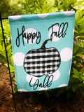 Garden Flag- Happy Fall