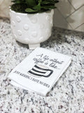 Life Before Coffee Towel