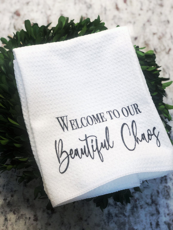 Beautiful Chaos Towel