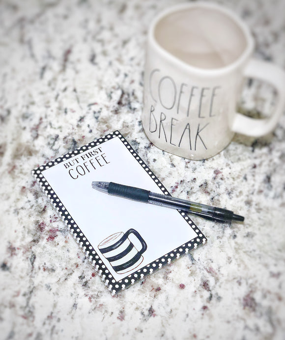 But First Coffee Notepad