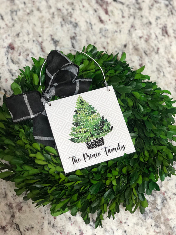 Christmas Tree Personalized Mini