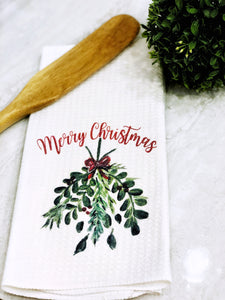 Merry Christmas Kitchen Towel