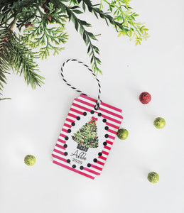 Christmas Tree Personalized Ornament