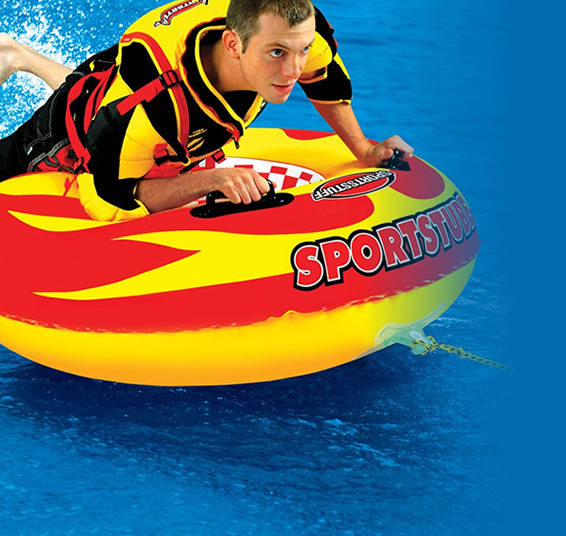New Sportsstuff Towable Boat Tube 3 Rider Speedzone 3 Spo 531940 Sporting Goods