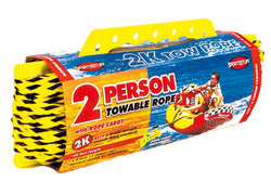 2-K Tow Rope for 1-2 Rider Boating Tubes