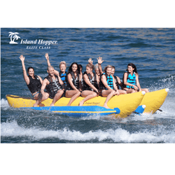 Island Hopper Side by Side Banana Sled (10 Passenger) Elite