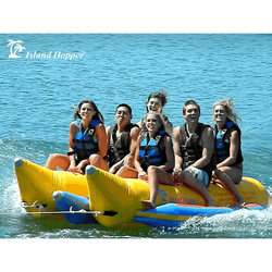 Island Hopper Side by Side Banana Boat Sled (6 Passenger)