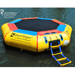 "10 Foot  ""Bounce & Splash"" Water Bouncer by Island Hopper"