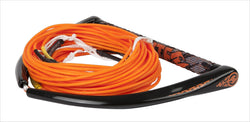 Team Orange Wakeboard Rope with X-Line By Hyperlite