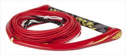 Team Red Wakeboard Rope with X-Line By Hyperlite