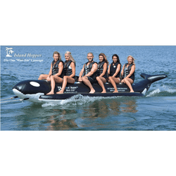 "Island Hopper In-Line ""Whale Ride"" Boat 6 Passenger"