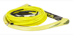 Team Yellow Wakeboard Rope with X-Line By Hyperlite