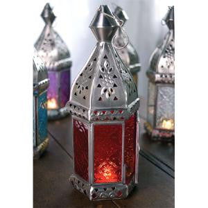 Morroccan Look Glass Lanterns