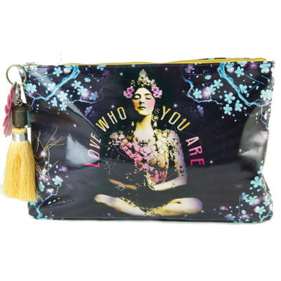 Papaya Large Accessory Pouch