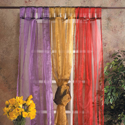 Sheer Organza Home decor