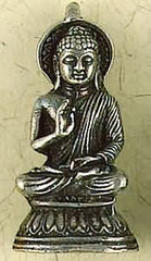 Buddhist Pewter Pendants
