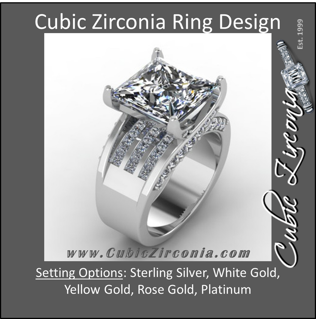 Best Quality CZ Engagement Rings The CubicZirconiacom Difference