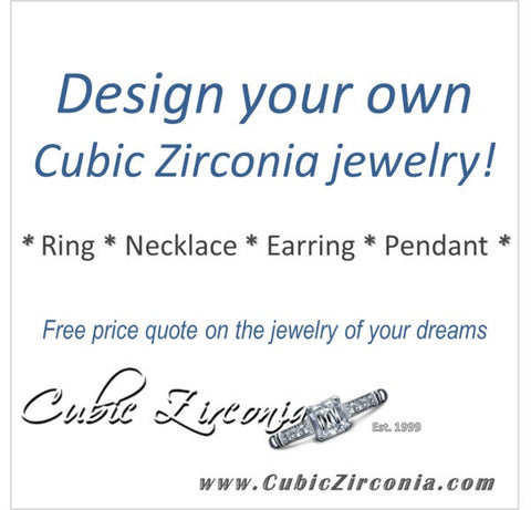 Design Your Own Cubic Zirconia Jewelry