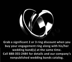 2 or 3 ring discount for buying multiple rings