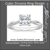 Cubic Zirconia Engagement Ring- The ________ Naming Rights 1205 (1.10 TCW Cushion Cut with Twisted Pavé 3-Sided Split Band)
