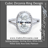 Cubic Zirconia Engagement Ring- The ________ Naming Rights 1291 (3.75 TCW Oval Ultra Halo with Pave Split Band)