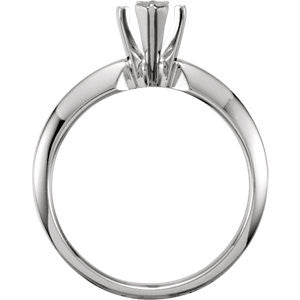 Cubic Zirconia Engagement Ring- The Cortney (0.25 Carat Marquise Cut Solitaire)