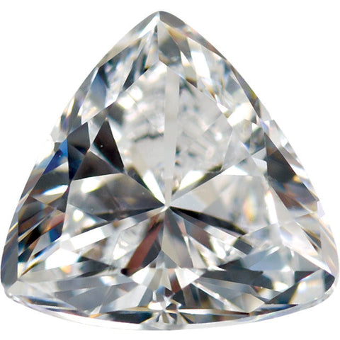 Trillion Cut Cubic Zirconia Loose Stones 5A Quality