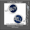 Men's Cufflinks- Buy and Sell Circles