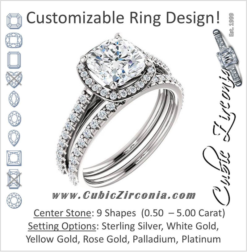 Cubic Zirconia Wedding Sets CZ Bridal Sets Cubic Zirconia CZ