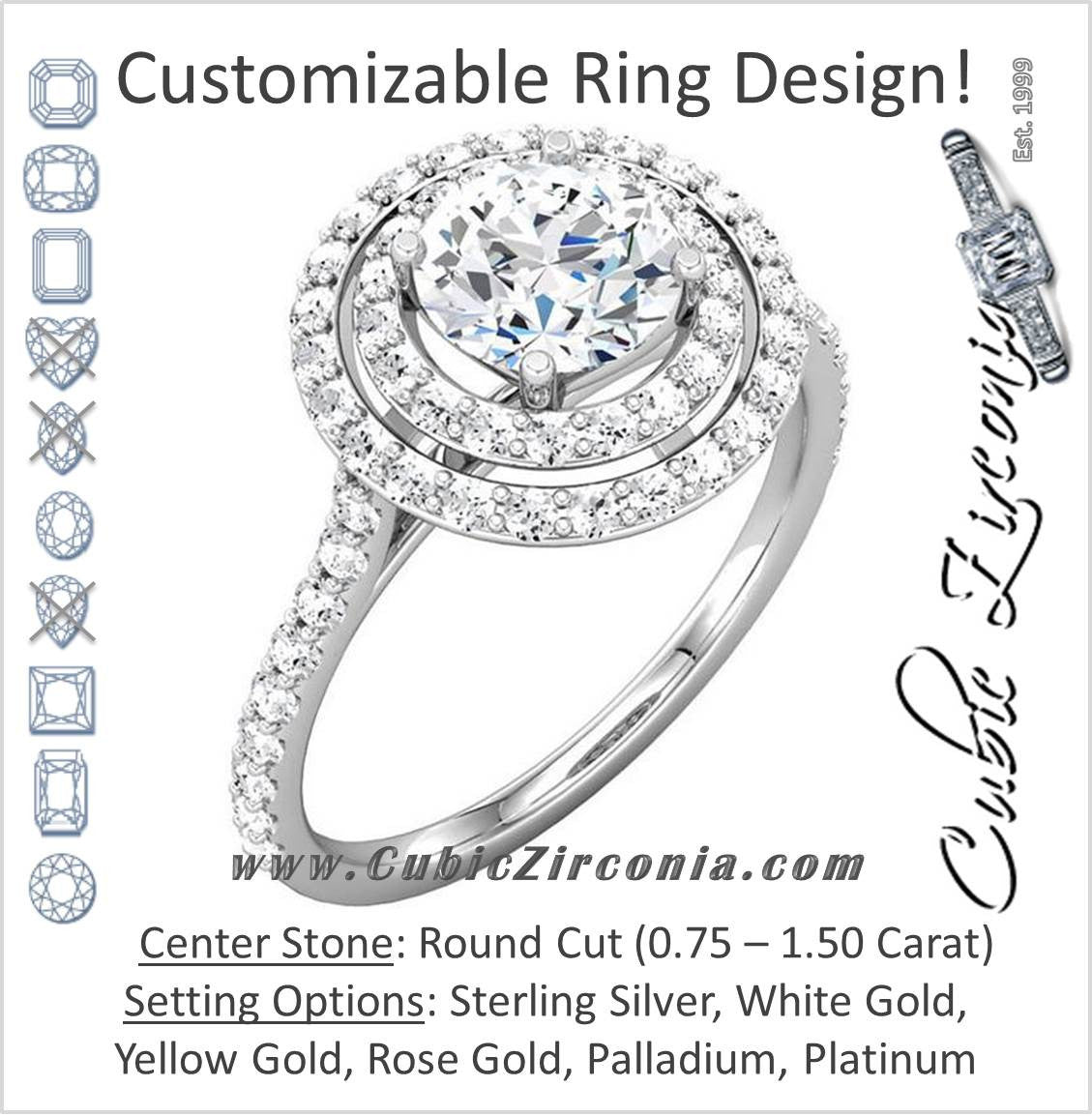 Mini Pave Ring Ring Diamond Engagement Ring Zircon Silver Fiancee ring,Clear Crystal Ring Round Halo Ring Zircon Wedding Jewelry Zircon
