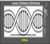 Laser Pattern Etching For Wedding Bands and Rings