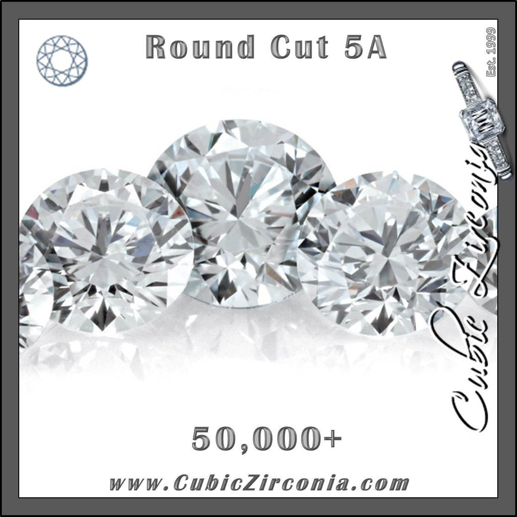 Wholesale 5A White/Clear Round Cut Melee/Accent Stones (Manufacturer Packages 50,000-5,000,000 units)