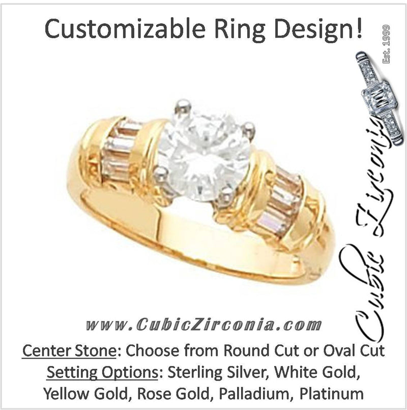 Cubic Zirconia Engagement Rings | CZ Engagement Rings – Cubic ...